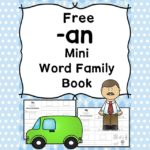 AN CVC Word Family Worksheets