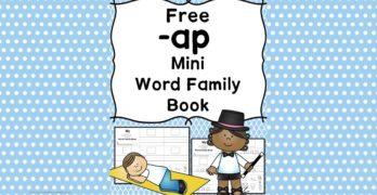 AP CVC Word Family Worksheets