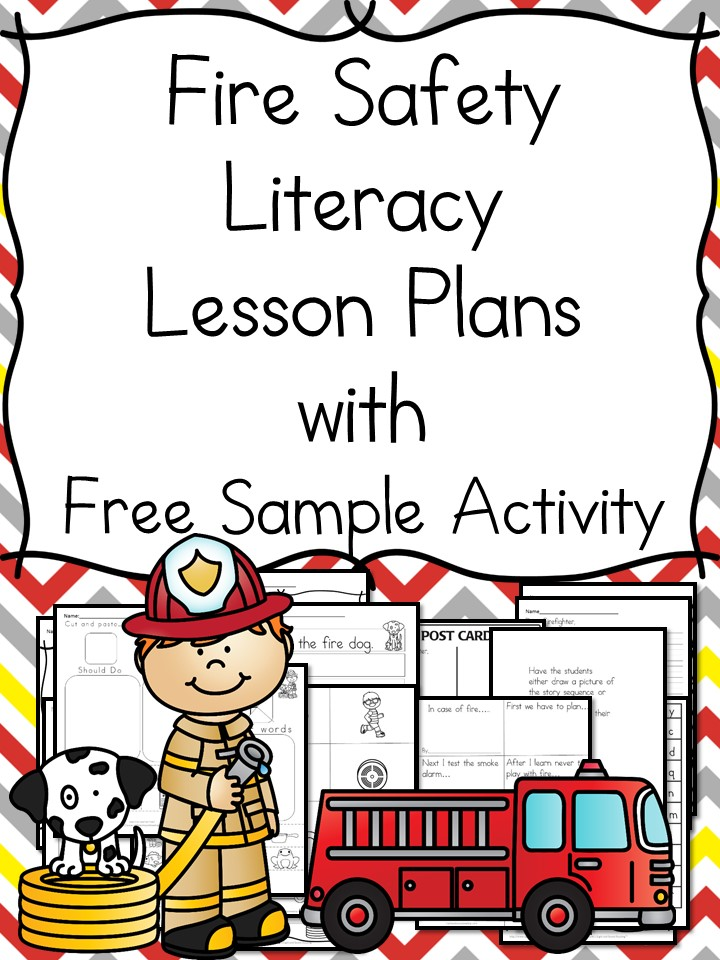 Fire Safety Worksheets for Kindergarten - Help your students learn about Fire Safety with these Fire Safety Worksheets for Kindergarten and boo, book recommendations, and free activities.