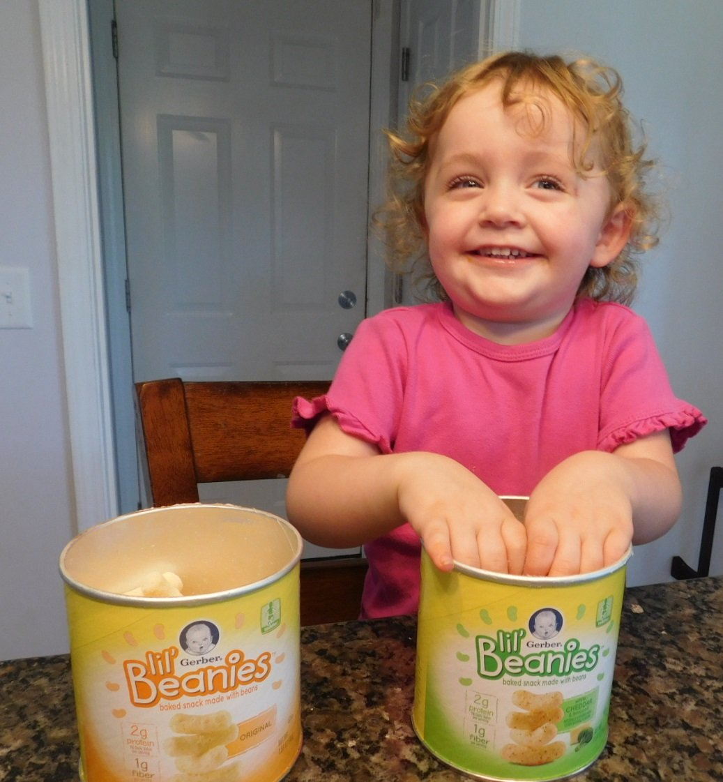 Gerber Lil beanies - fun snack for toddlers!