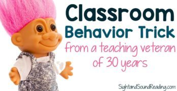 Learn classroom behavior strategies from a teaching veteran. Also included are classroom free posters for Classroom rules for Kindergarten.