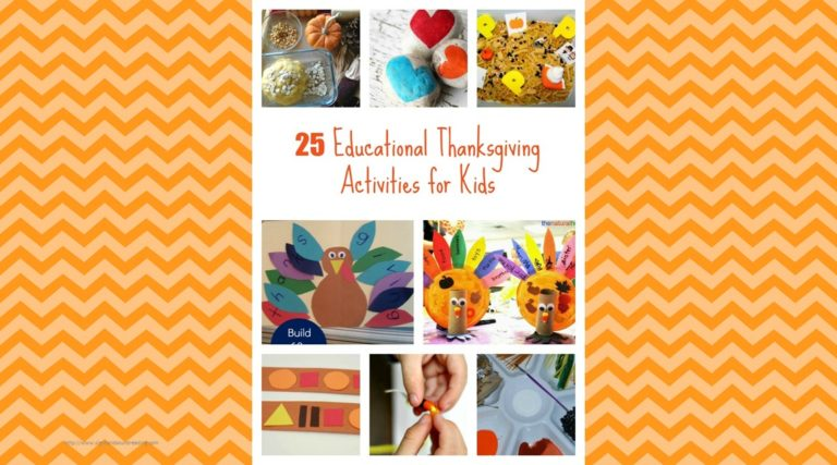 Educational Thanksgiving Activities