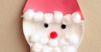 Santa Advent Calendar Craft