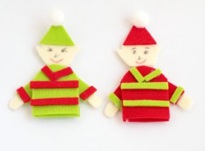 If you are looking for cute and easy holiday fun, check out these Elf Christmas Crafts - finger puppets, cut/paste activities and more!