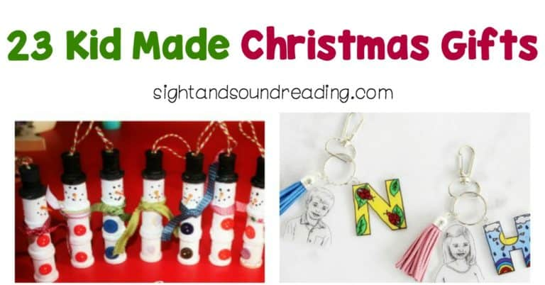 Easy Kid Made Gift Ideas