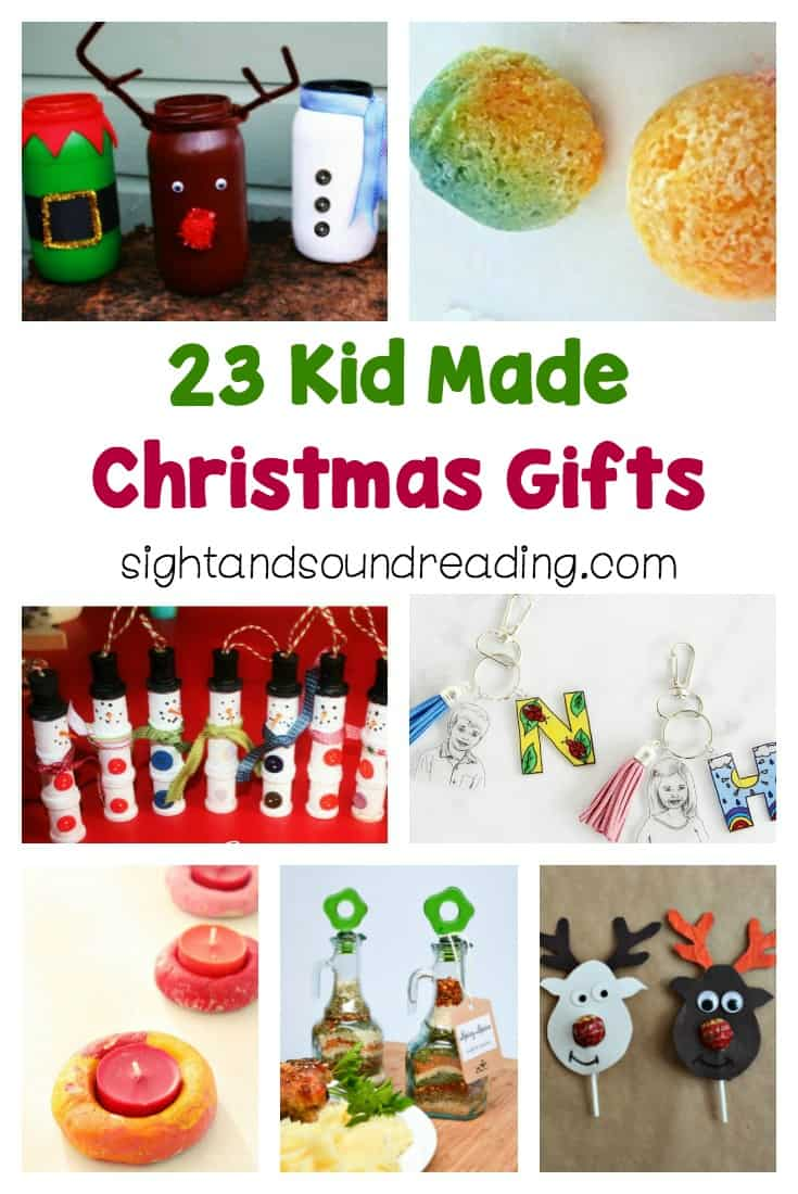 Today, I would like to share some easy kid made gift ideas to help you and kids in the holiday seasons. Be inspired to make others happy.
