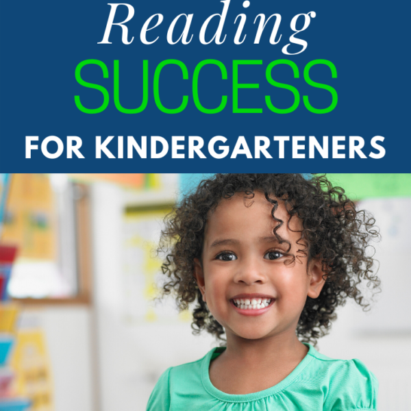 25 Days to Kindergarten Reading Success