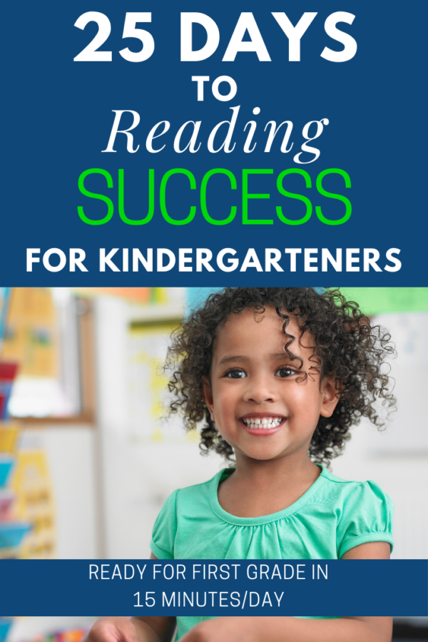 25 Days to Kindergarten Reading Success