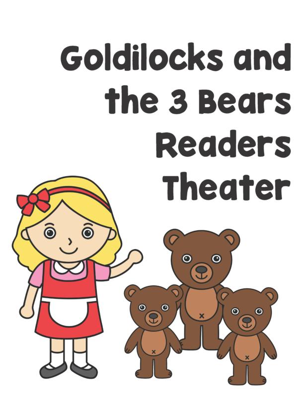 Three Little Bears Readers Theater