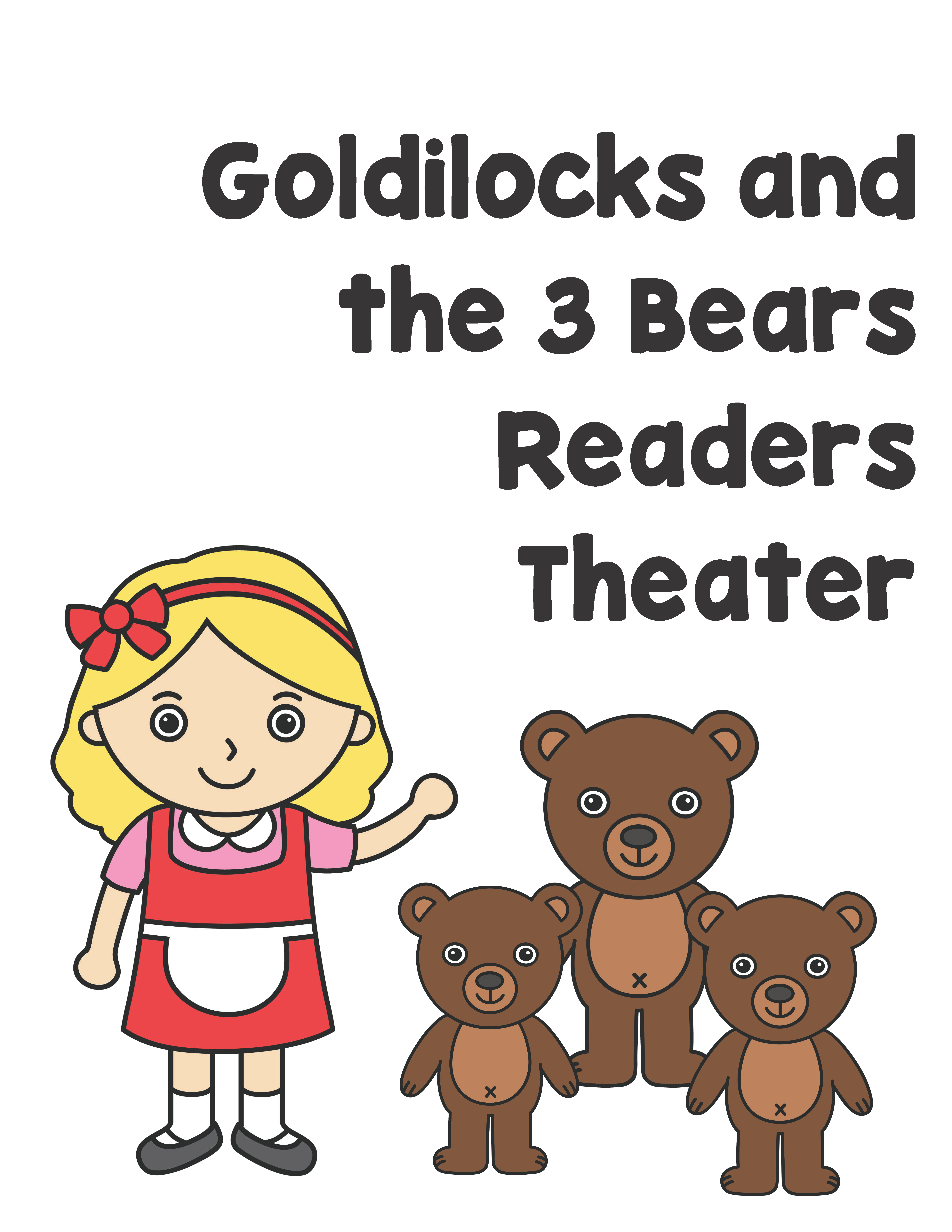 Three Little Bears Readers Theater