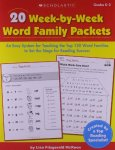 20 Week-by-Week Word Family Packets: An Easy System for Teaching the Top 120 Word Families to Set the Stage for Reading Success (Teaching Resources)