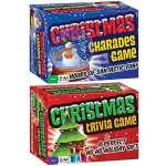 (Set) Christmas Holiday Charades And Trivia Card Games Test Your Knowledge