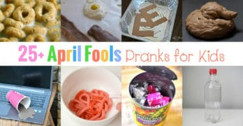 28 April Fool Day Pranks for Preschool or Kindergarten fun!