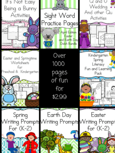 April Literacy bundle 3