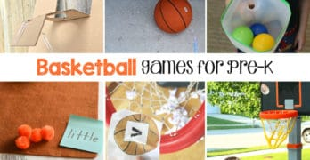 Basketball Games for Pre-K and K