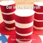 Who doesn't know the legendary book Cat in The Hat written by Dr. Seuss? The red and white hat is very famous and cute. Today I am glad to share a fabulousCat in The Hat craft for preschoolers and kindergartens.