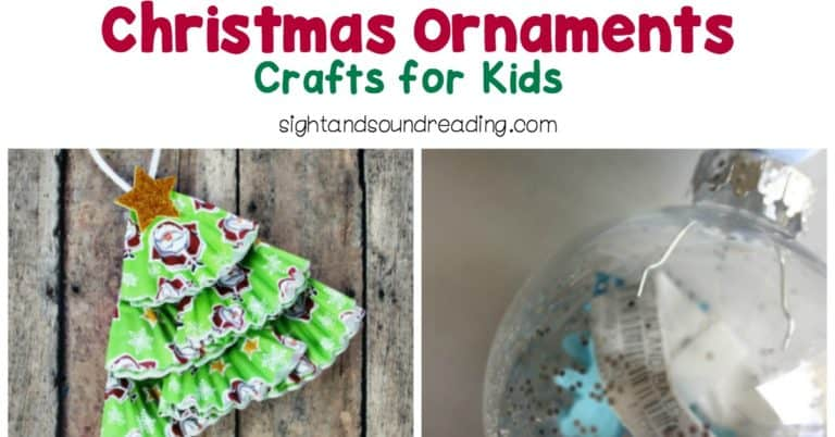 Christmas Ornaments – Crafts for Kids