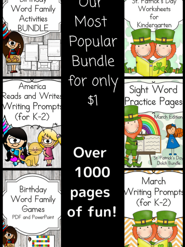 March Literacy Special for $1