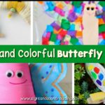 Let's celebrate the coming of spring and summer with these creative and colorful butterfly preschool craft. Use this craft in areas of learning.