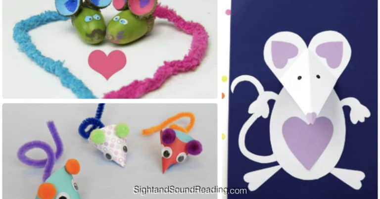 15 Easy and Cute Mouse Crafts for Kids and Adults