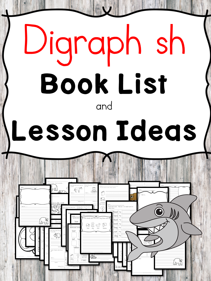 Teaching the digraph sh? Include some books include digraph sh sound. Here is the digraph sh book list to teach the digraph sh sound.
