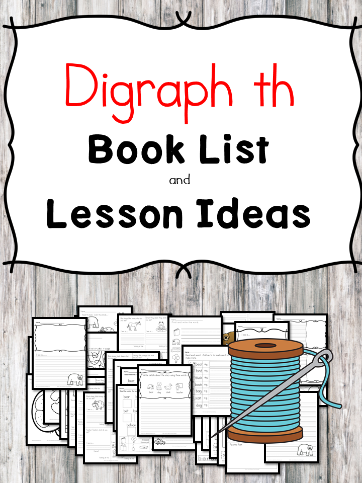 Teaching the digraph Th? Include some books include digraph Th sound. Here is the digraph Th book list to teach the digraph Th sound.
