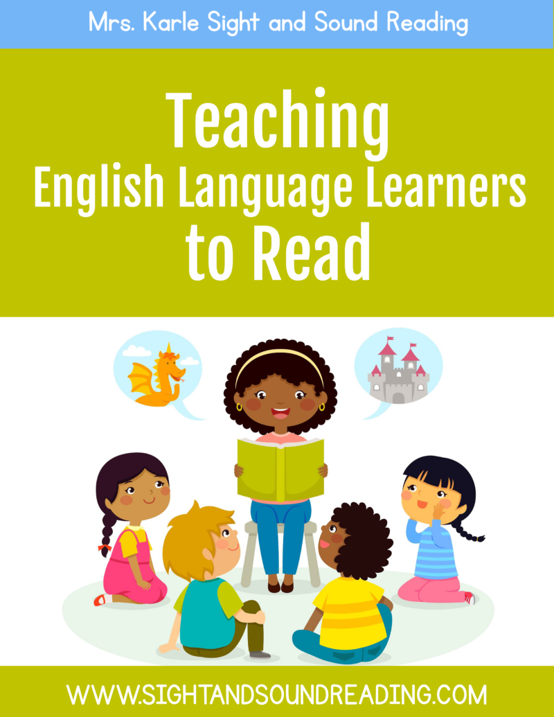 Teaching English as a Second Language to read
