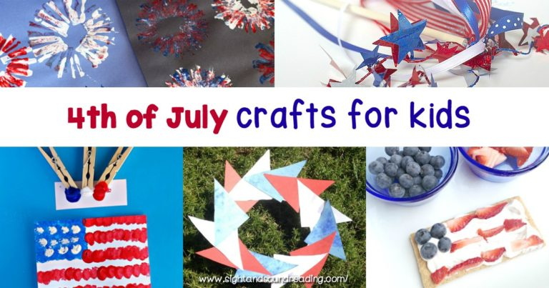 Easy Fourth of July Crafts