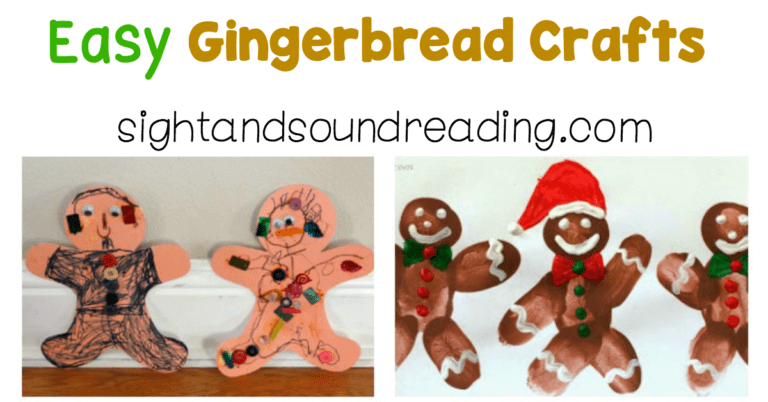 Easy Gingerbread Crafts