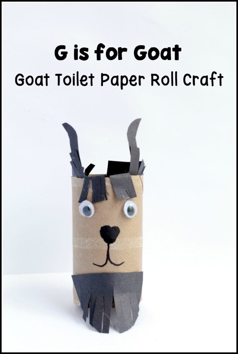 Letter G Craft Teach The Hard G Sound With A Goat