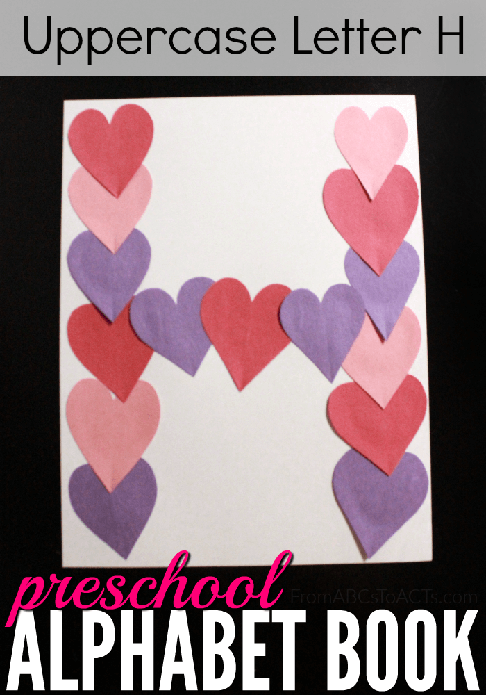 Letter H Crafts for preschool or kindergarten – Fun, easy and
