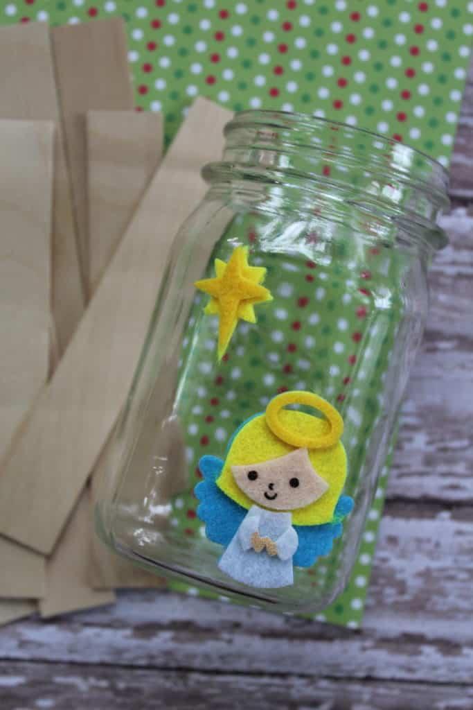 Nativity Stick Puppet materials