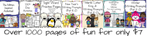 January Literacy Bundle