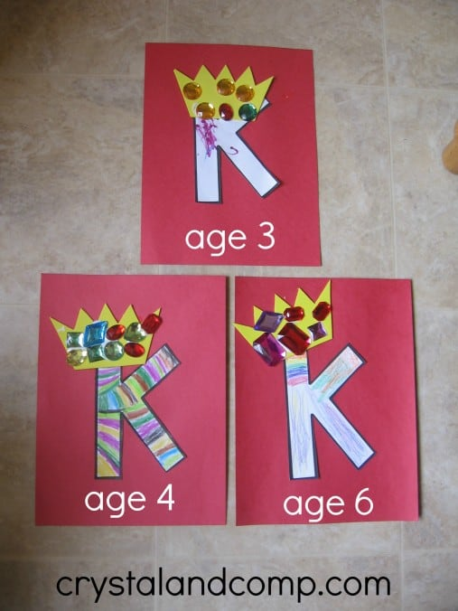 Letter K Crafts For Preschool Or Kindergarten Fun Easy