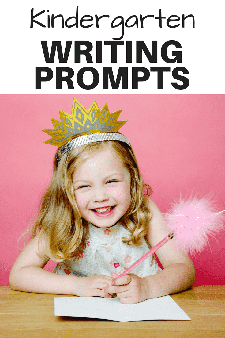 Kindergarten Writing Prompts - From the beginning of year to the end of year, kindergarten writing prompts to get your students writing and learning.