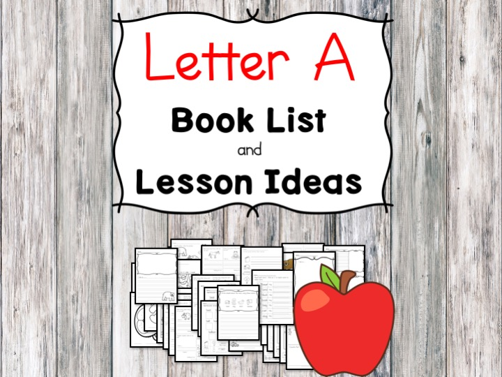 Letter A book list