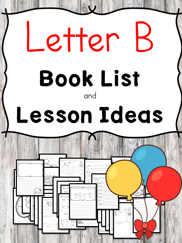 Letter B book list