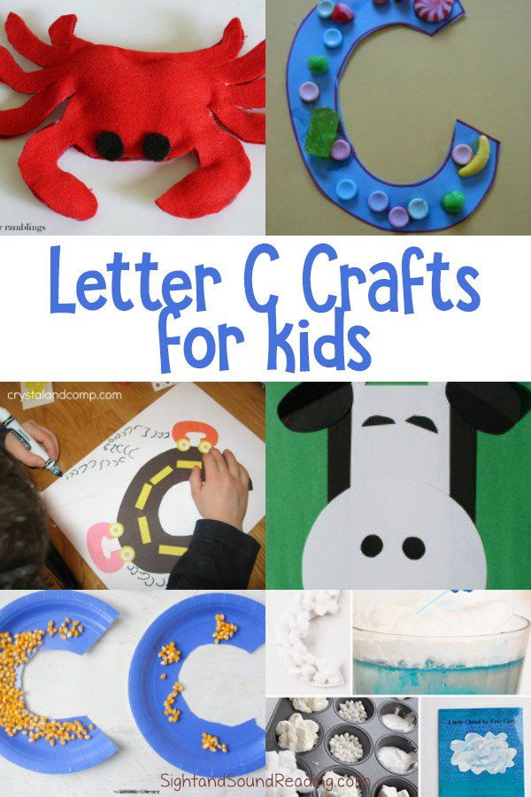 20 Letter C Crafts for preschool or kindergarten Fun & easy
