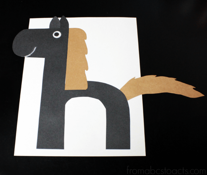 letter h crafts for preschoolers letter h crafts for preschool or kindergarten easy 11684