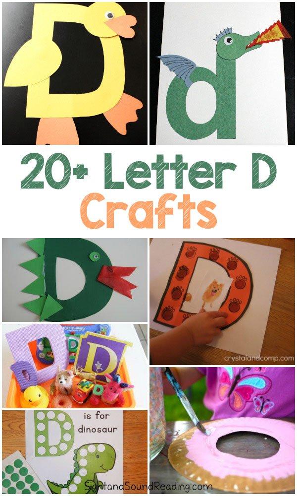 20 Easy Letter D Crafts For Preschool
