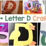 Letter D Crafts for preschool and kindergarten