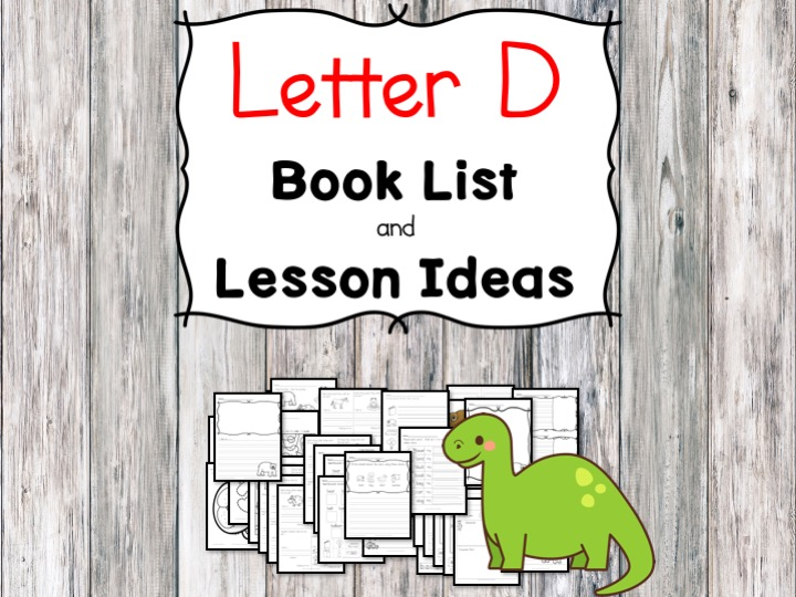 Teaching the letter D? Include some books include letter D sound. Here is the Letter D book list to teach the letter D sound.