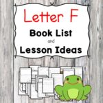 Teaching the letter F? Include some books include letter F sound. Here is the Letter F book list to teach the letter F sound.