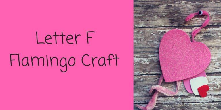 Letter F Craft – Flamingo Craft