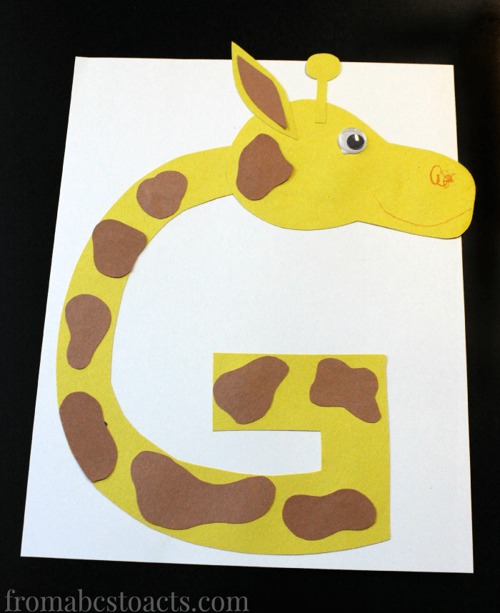 letter g crafts for preschool or kindergarten fun easy and educational