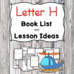 Teaching the letter H? Include some books include letter H sound. Here is the Letter H book list to teach the letter H sound.