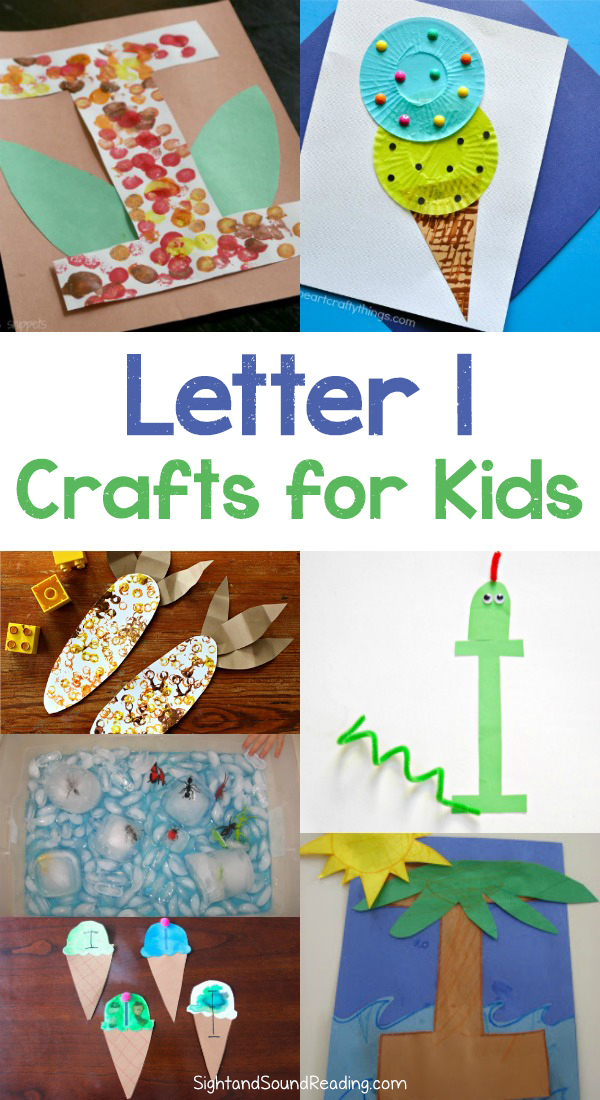 Letter I Crafts for preschool or kindergarten – Fun, easy and