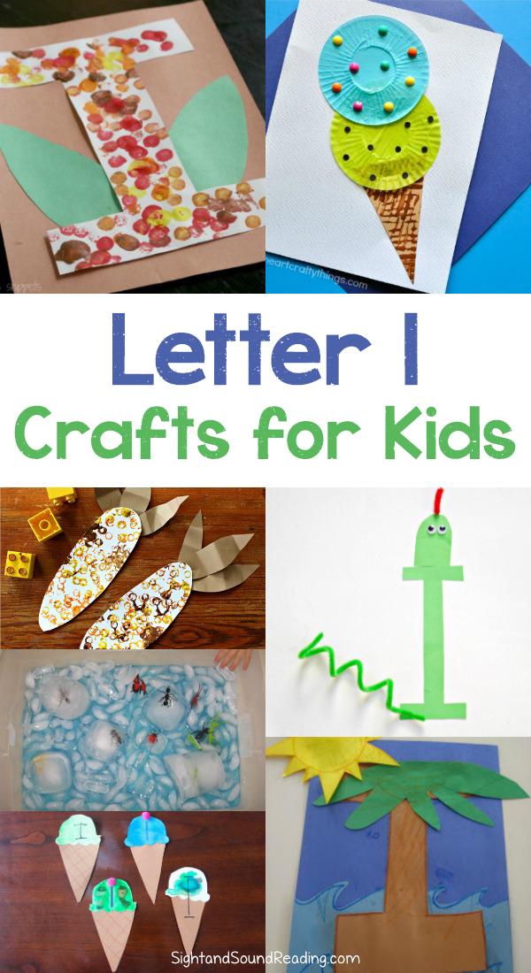 letter i crafts