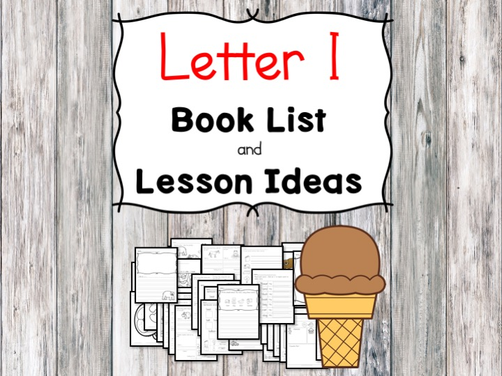 Teaching the letter I? Include some books Include letter I sound. Here is the Letter I book list to teach the short letter I sound.