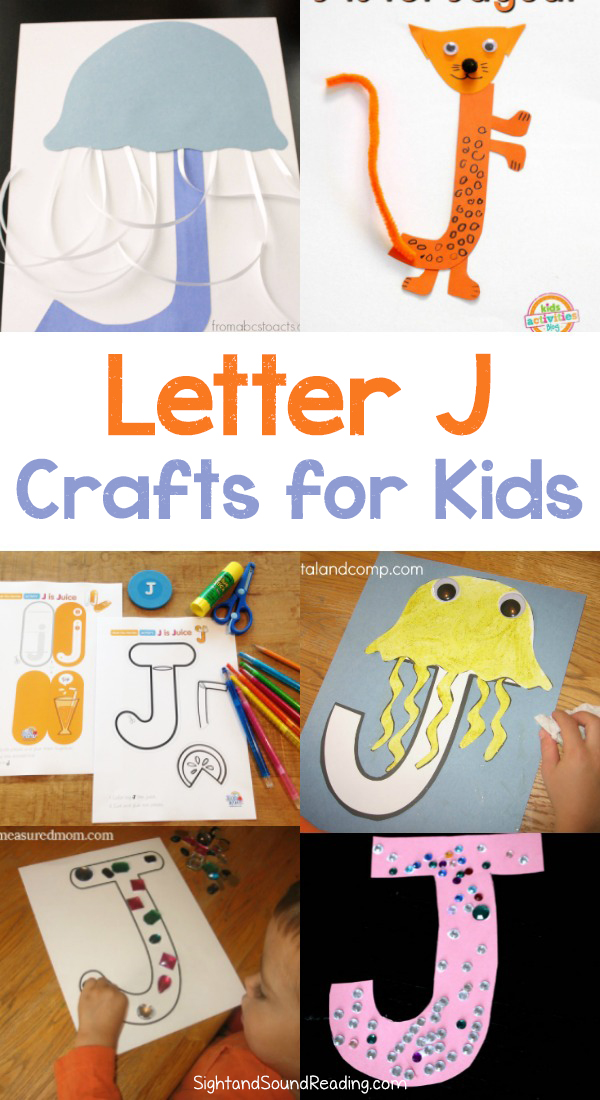 Letter J Crafts For Preschool Or Kindergarten Fun Easy And